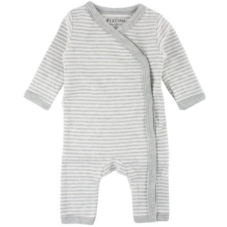 FIXONI Frühchen Overall light grey