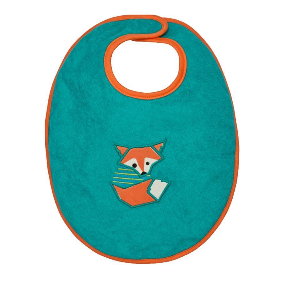 LÄSSIG Bavoir Waterproof Bib medium Little Tree - Fox