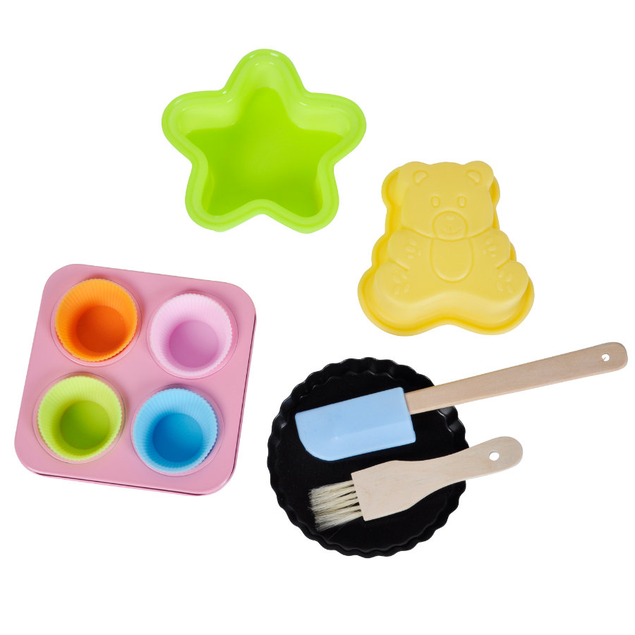 KNORRTOYS Sweet & Easy - Enie backt - Silikon-Backset