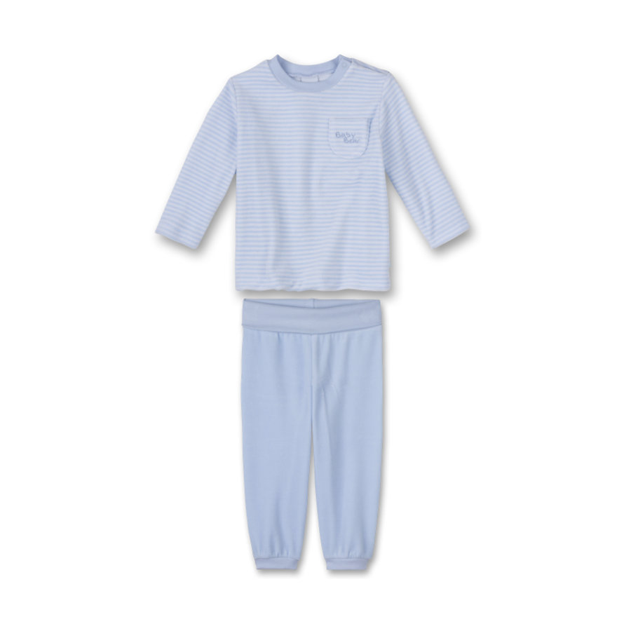SANETTA Boys Pyjama 2-delig light blue