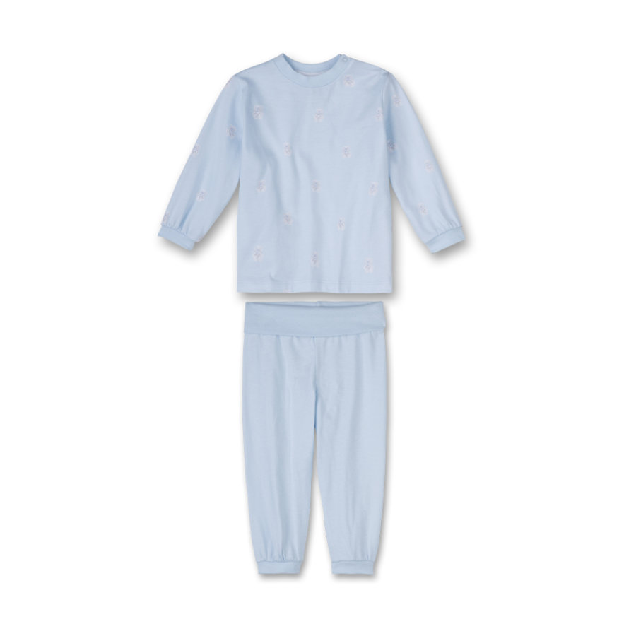 SANETTA Boys Schlafanzug 2-teilig light blue