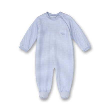 SANETTA Boys Schlafoverall light blue