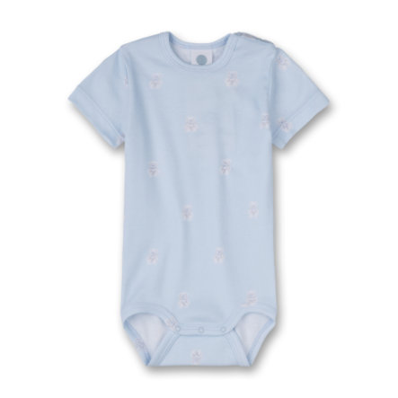 Sanetta Boys Romper 1/4 Arm light blue