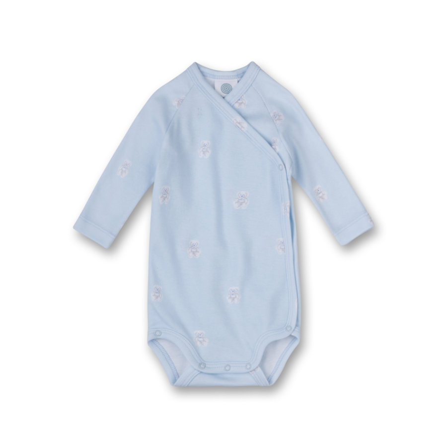 SANETTA Boys Wickelbody 1/1 Arm light blue