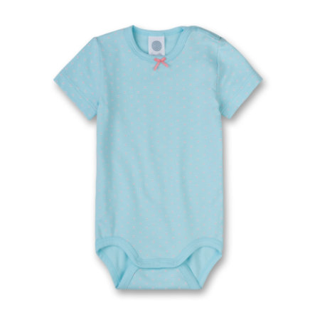 SANETTA Girls Body 1/4 Arm light blue