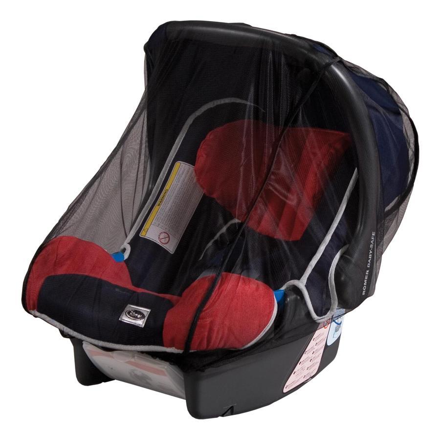 SUNNYBABY Insectennet voor reiswieg/autostoel zwart