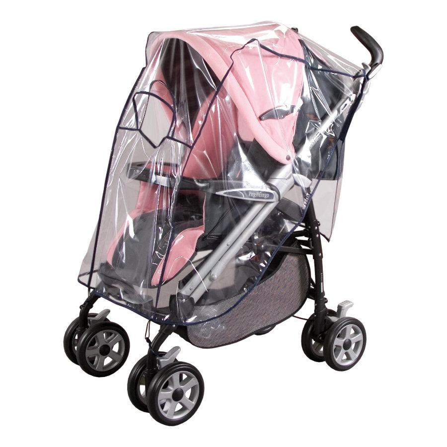 SUNNYBABY Raincover for Buggy with Roof Large