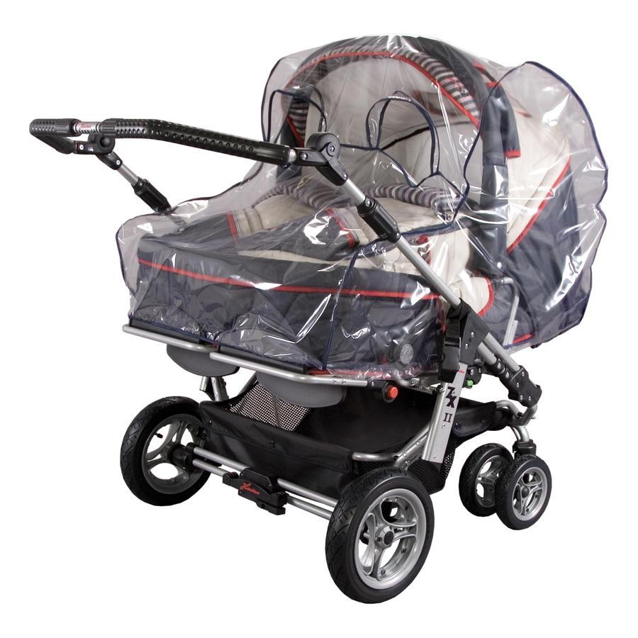 SUNNYBABY Regenverdeck für Zwillingskinderwagen