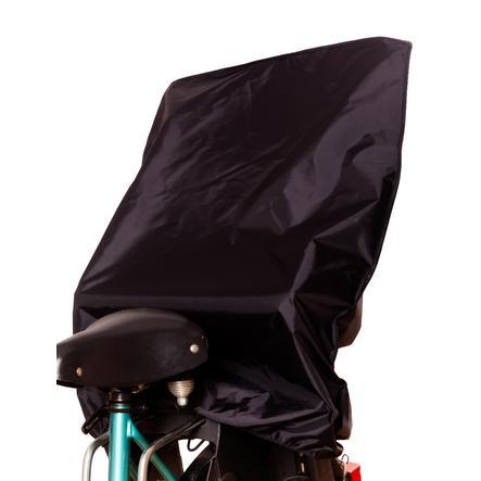 SUNNYBABY Mantellina parapioggia per seggiolino bici, nero