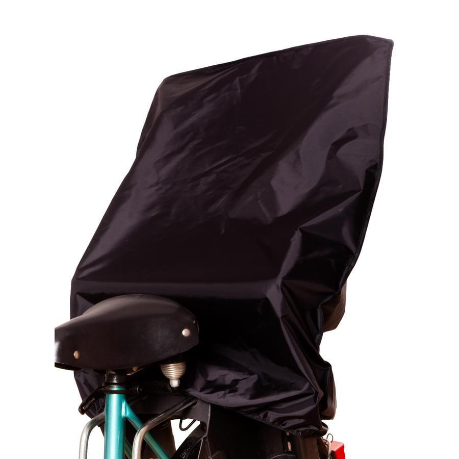 SUNNYBABY Protection pluie pour siège de vélo enfant, noir
