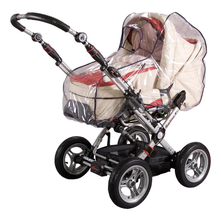 SUNNYBABY Regenhoes met schild voor kinderwagen