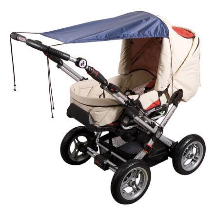 SUNNYBABY Solskydd för barnvagnar, UPF 50+ marin