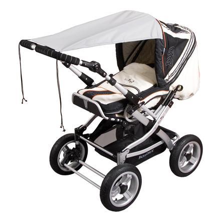 SUNNYBABY Solskydd för barnvagnar, UPF 50+ grå