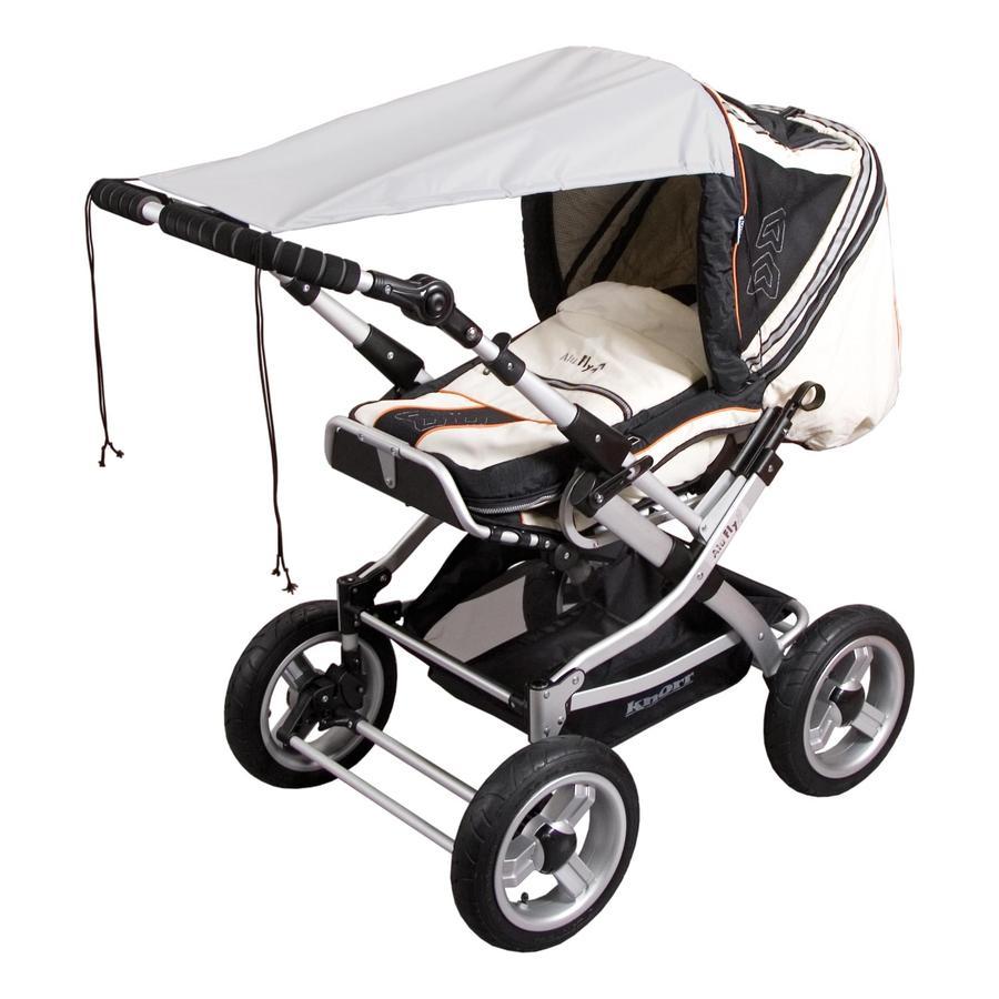 SUNNYBABY Markise für Kinderwagen UPF 50+ Grau