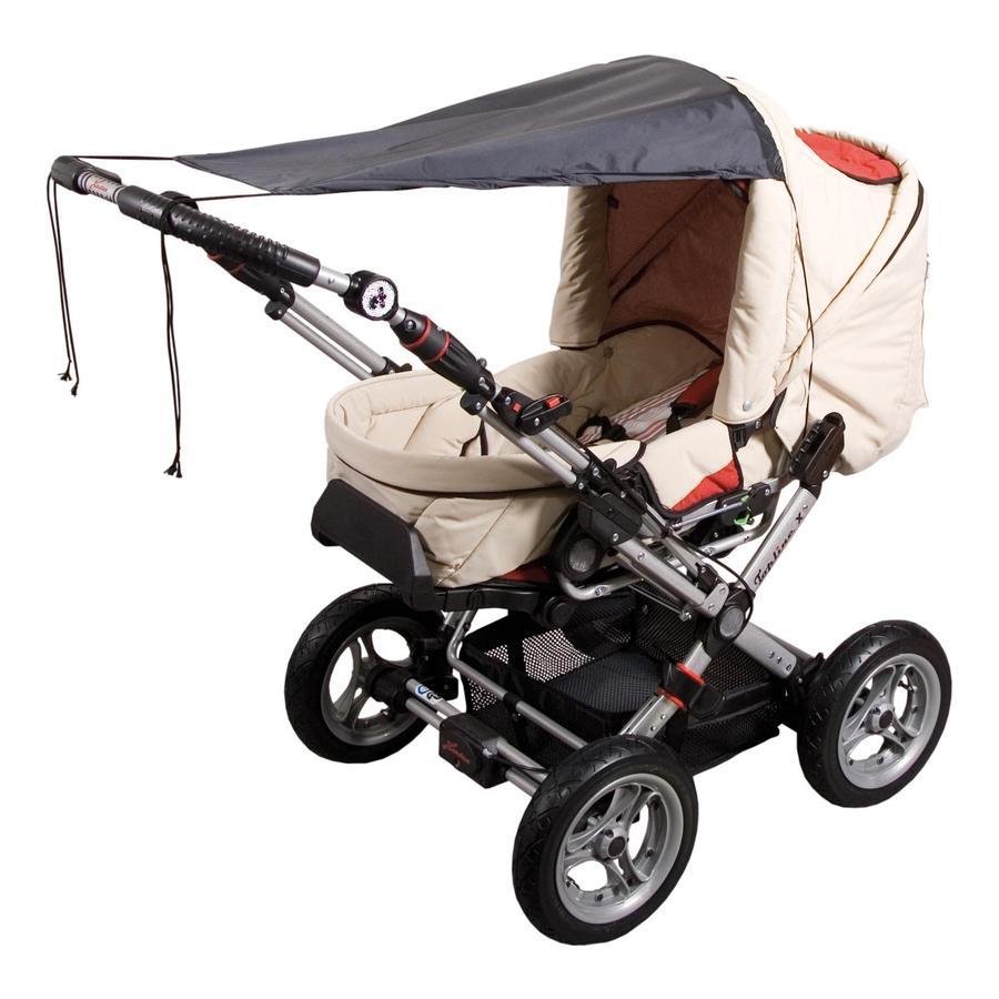SUNNYBABY Solskydd för barnvagnar UPF 50+ svart