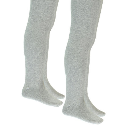 NAME IT Girls Strumpfhose 2er Pack grey melange