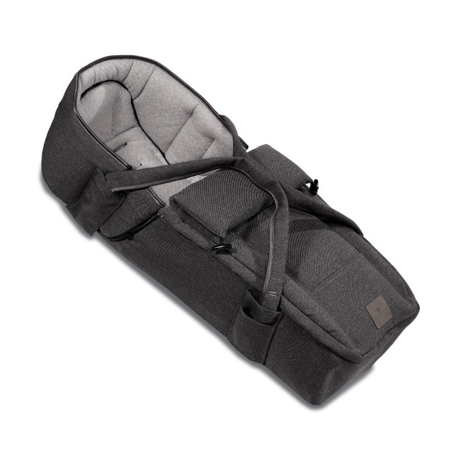 HARTAN Reiswieg Soft carrycot Bellybutton Anthracite (966)