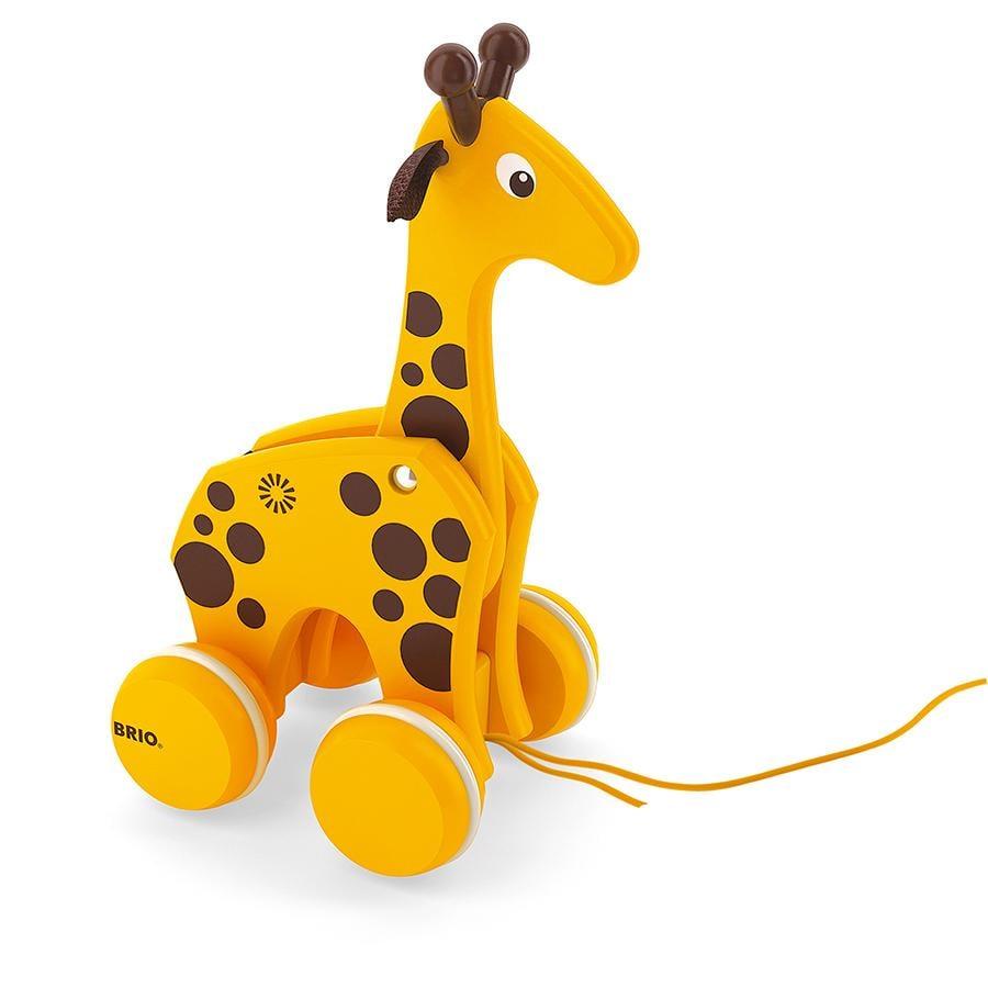 BRIO Zabawka do ciąnięcia Żyrafa