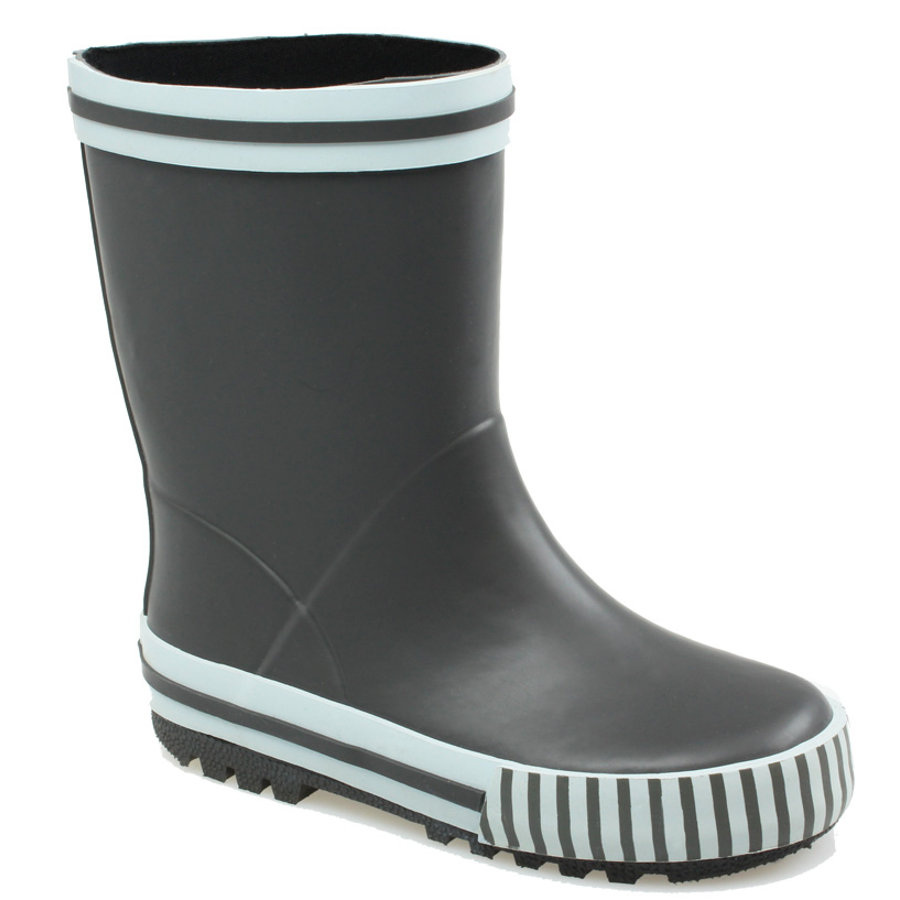 Botas de goma Boys BECK OUTDOOR gris
