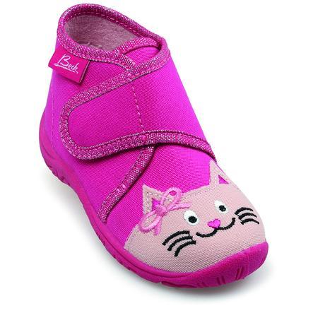 BECK Girl s pantofle CAT pink