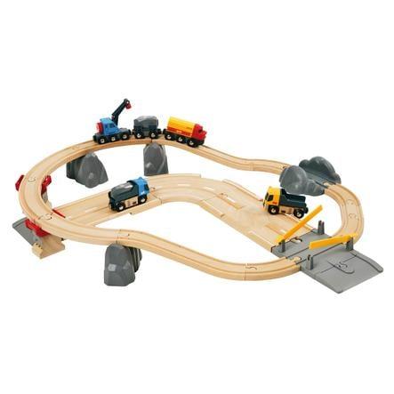 BRIO basisset Spoorwegen - Spoor- en wegtransport stenen