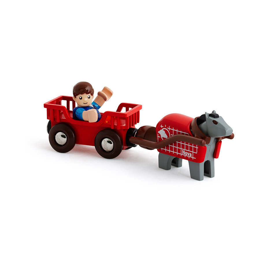 BRIO Wóz konny z figurką