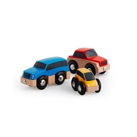 BRIO Auta, 3 díly
