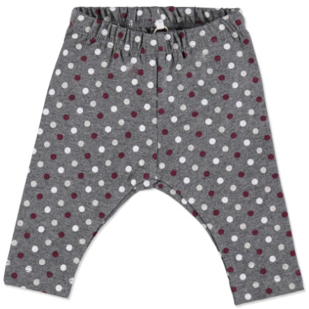 NAME IT Girls Baby Leginsy NITPEGGY dark grey melange