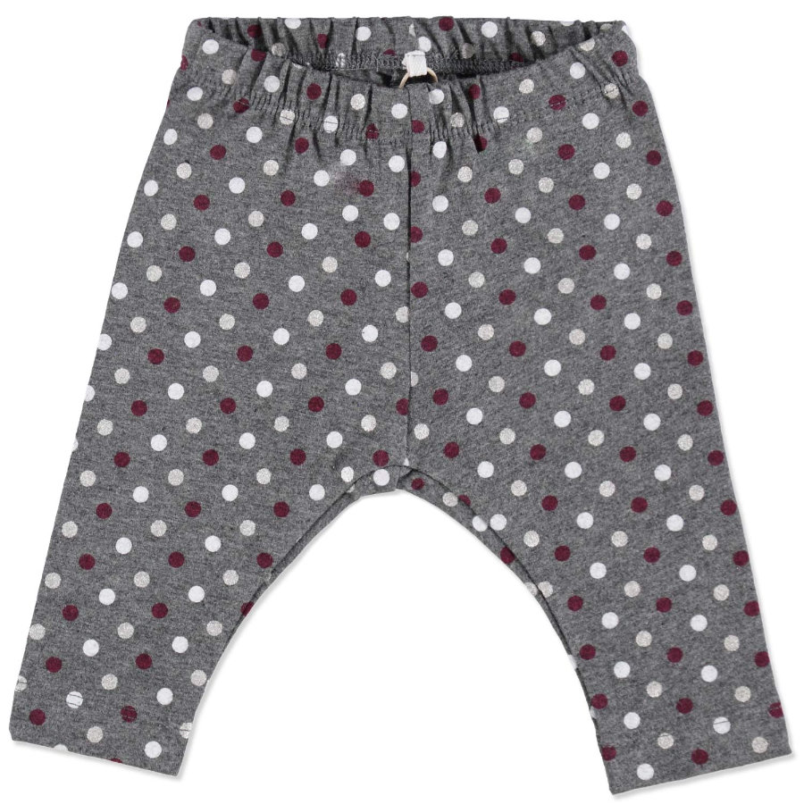 NAME IT Girls Baby Leggings NITPEGGY dark grey melange