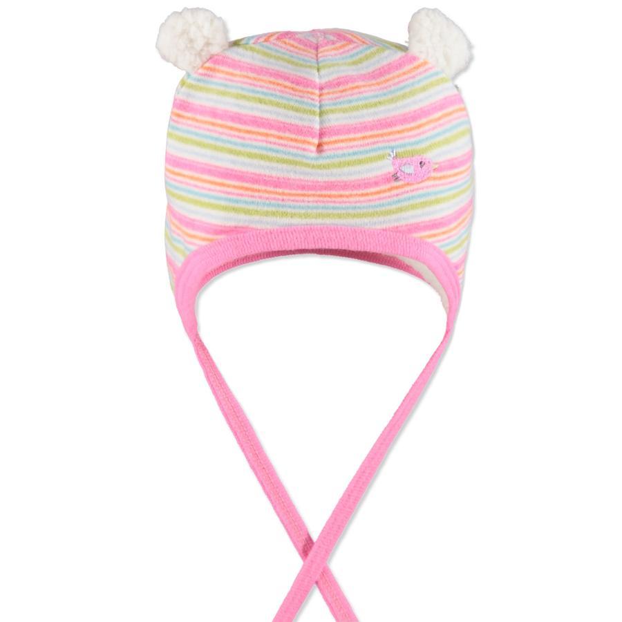 MaxiMo Girl s gorra de bebé rayas clavel rosa