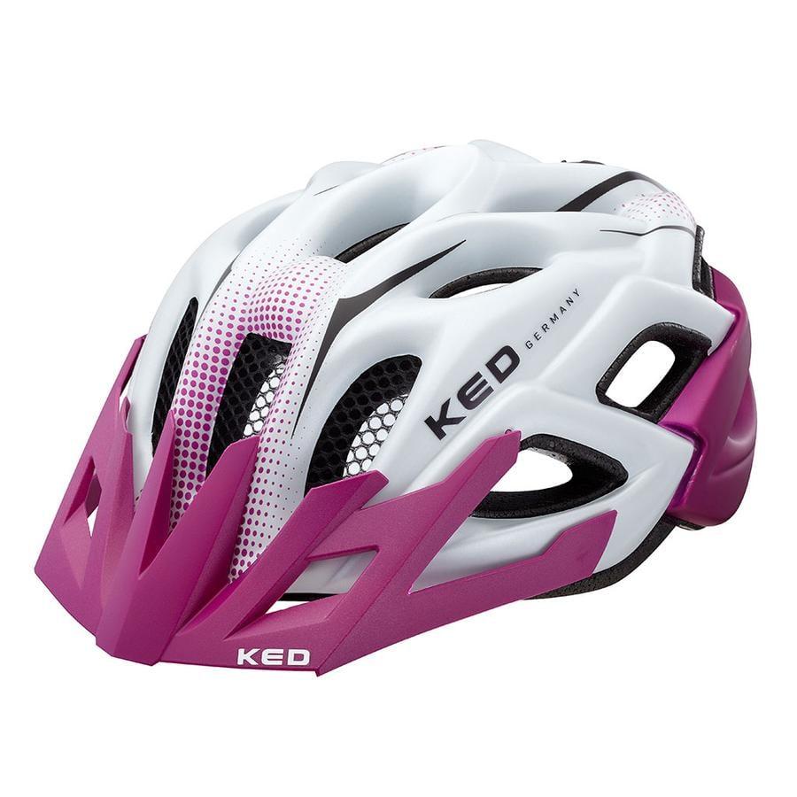 KED Fahrradhelm Status Jr.Violet Pearl matt Gr. M 52-59cm