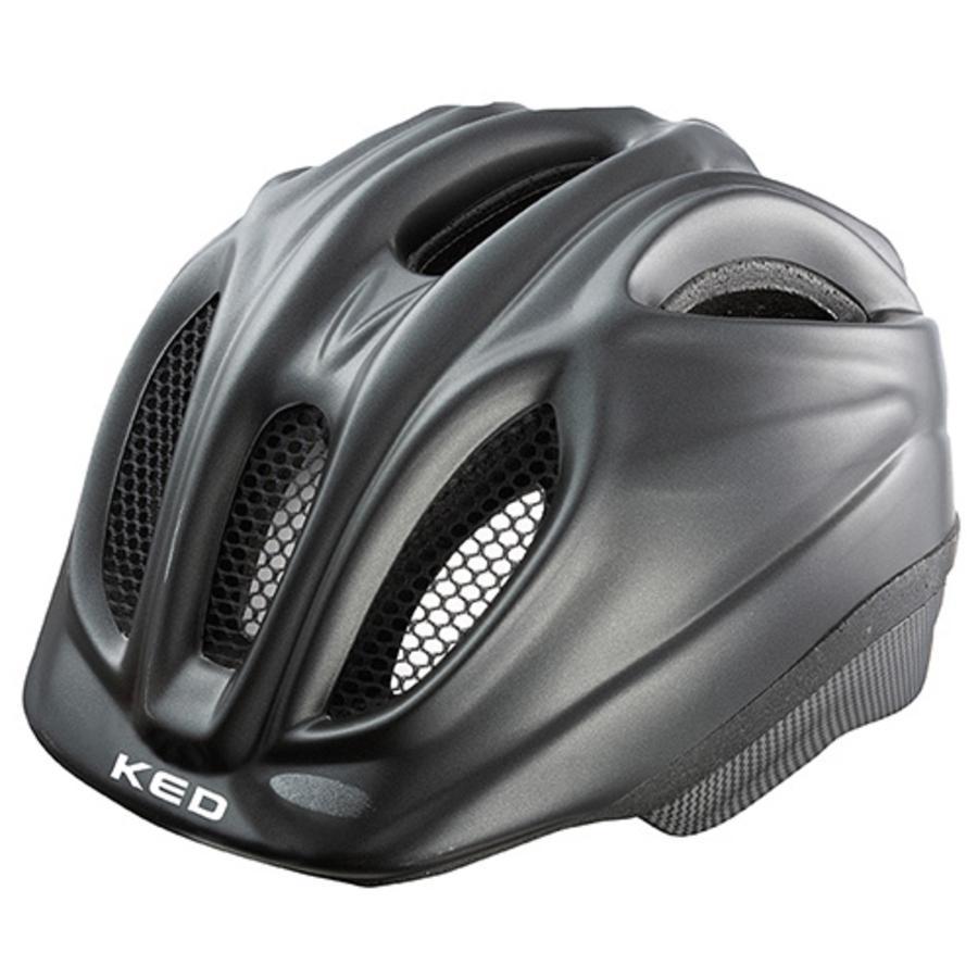 KED Cykelhjälm Meggy Black matt Stl. M 52-58 cm