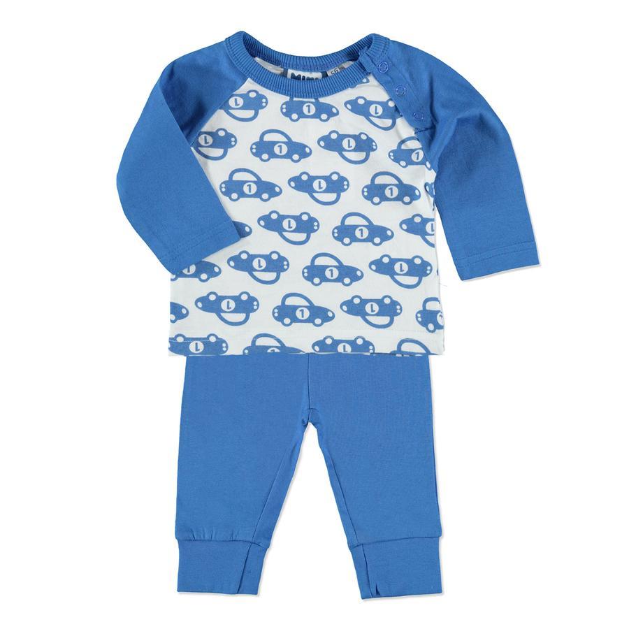 MAX COLLECTION Boys Schlafanzug blau/weiß