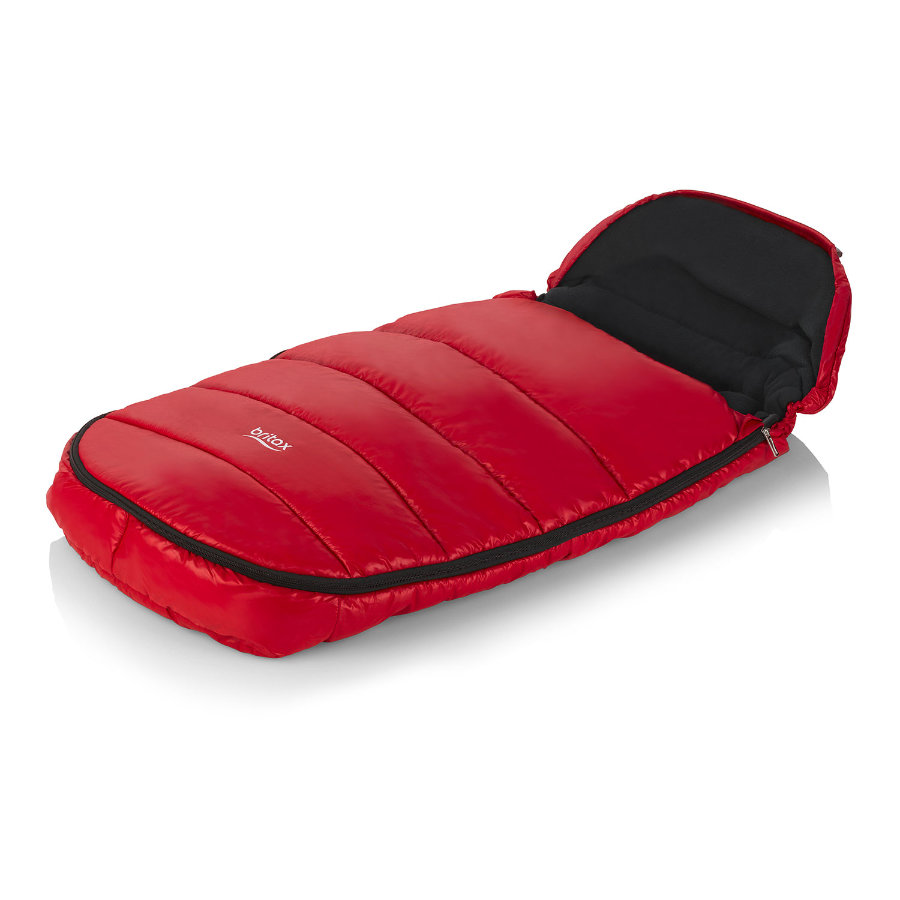 BRITAX Coprigambe Shiny Red, rosso