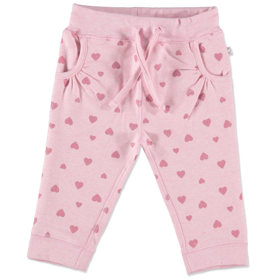 Staccato Girls Baby Jogginghose rose- melange