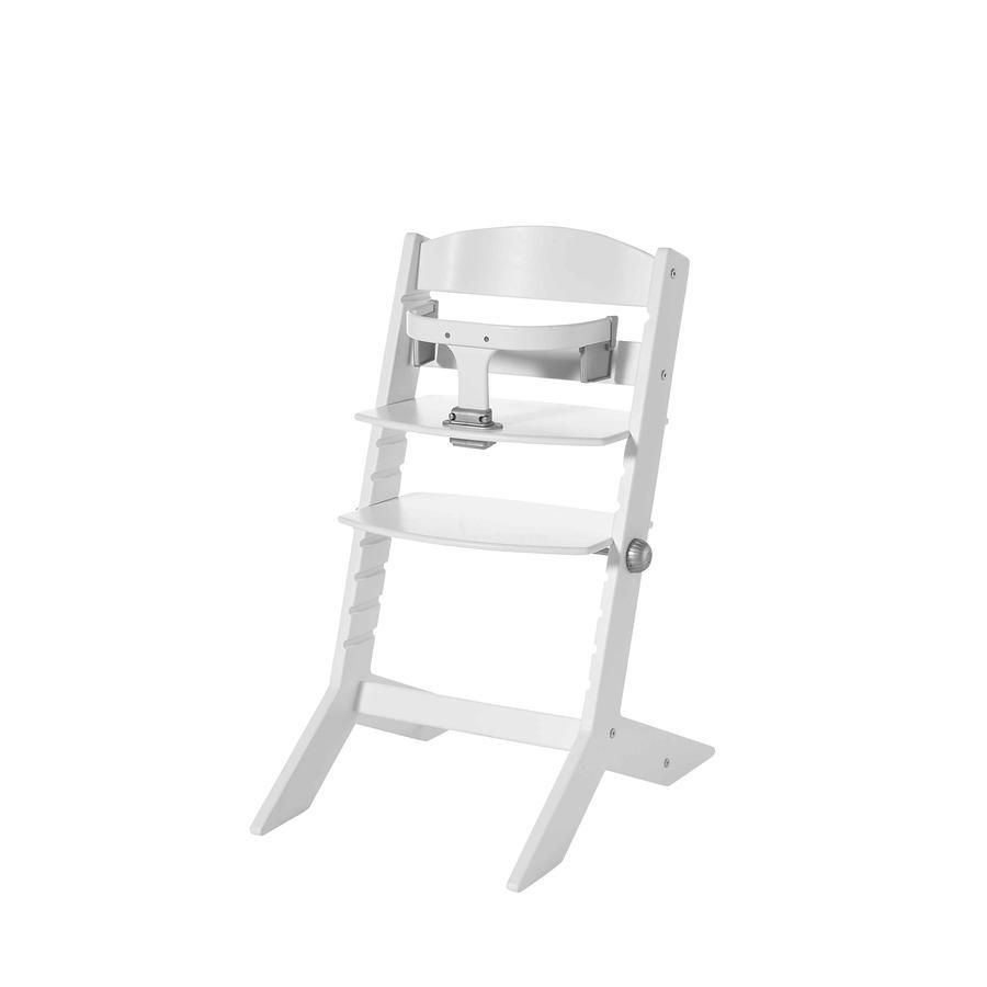 geuther Chaise haute bébé Syt, bois blanc