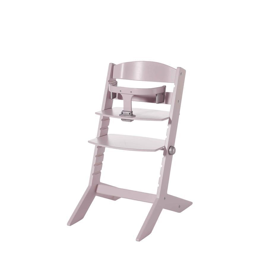 geuther Chaise haute bébé Syt, bois rose