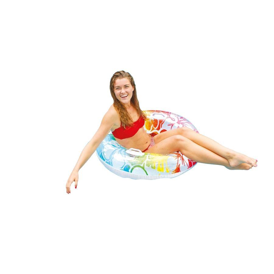 INTEX Riesen-Schwimmreifen transparent 97 cm