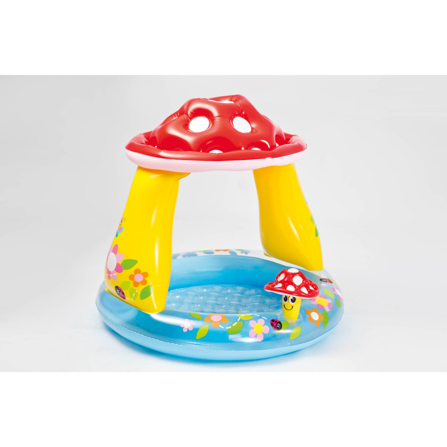 INTEX Piscina Baby Pool - Mushroom Sunshade