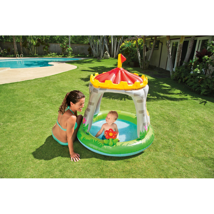 INTEX Baby Pool - Royal Castle Sunshade