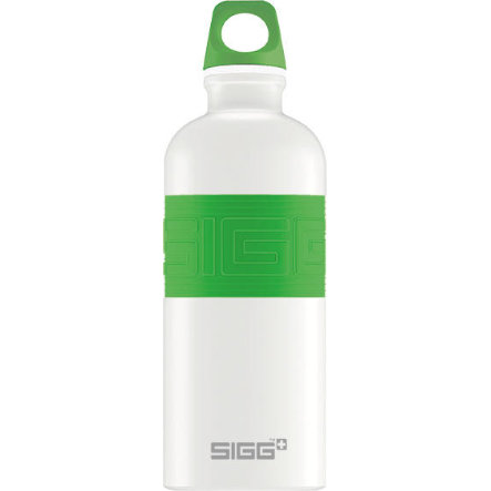 SIGG Trinkflasche 0,6l CYD Pure Design White Touch Green