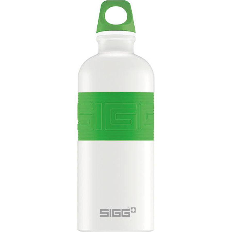 SIGG Gourde 0,6 l CYD Pure Design White Touch Green