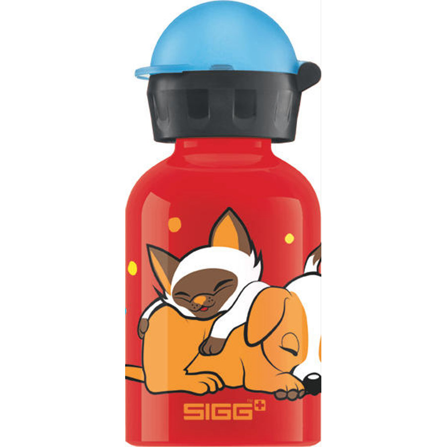 SIGG Flaska 0,3 L Dogs Love Cats