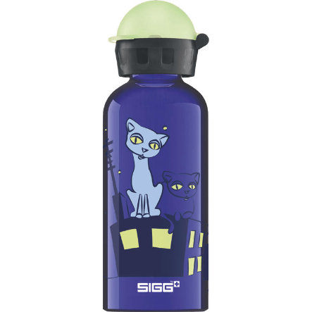 SIGG Trinkflasche 0,4 L Design Glow Night Cats