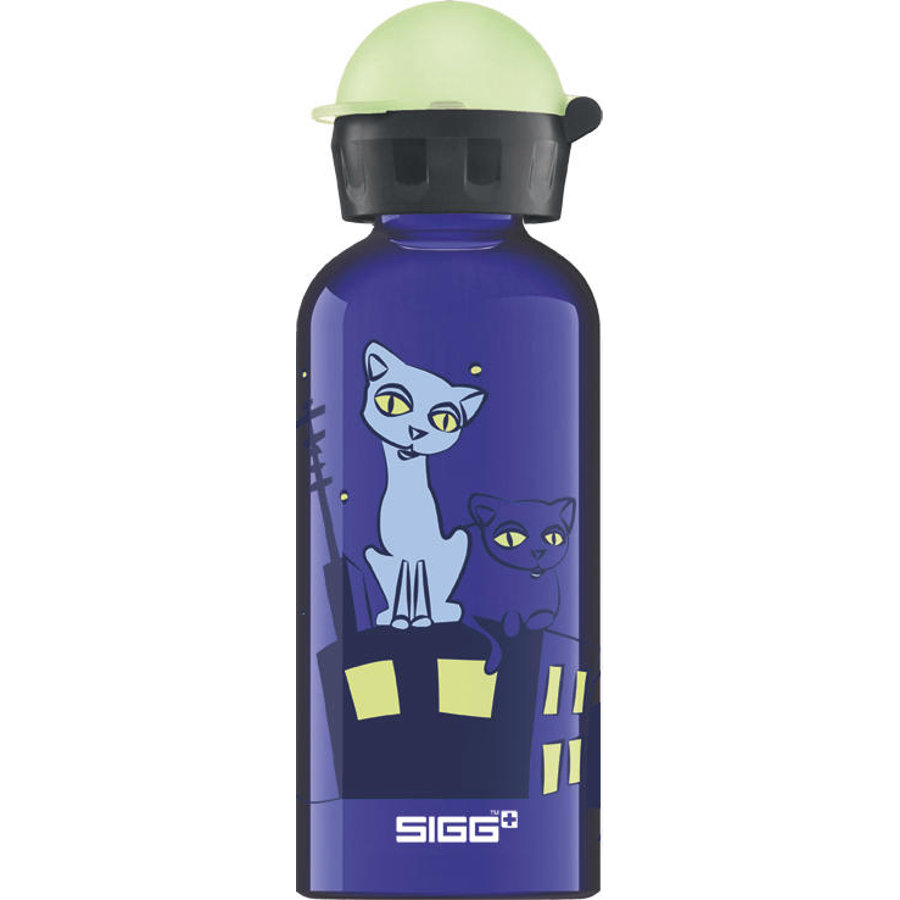 SIGG Gourde 0,4 l Design Glow Night Cats