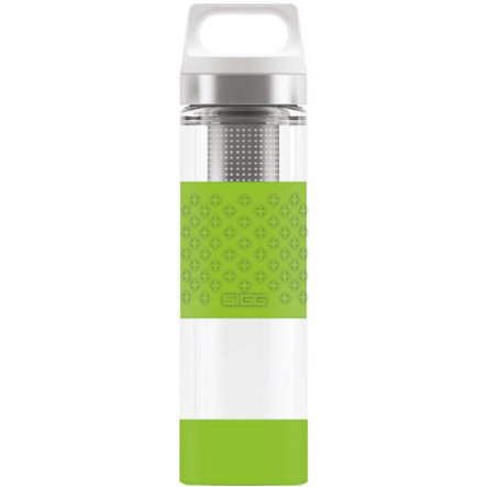 SIGG Hot & Cold Trinkflasche 0,4 L Glass WMB - Green