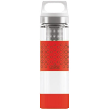 SIGG Hot & Cold Trinkflasche 0,4 L Glass WMB - Red