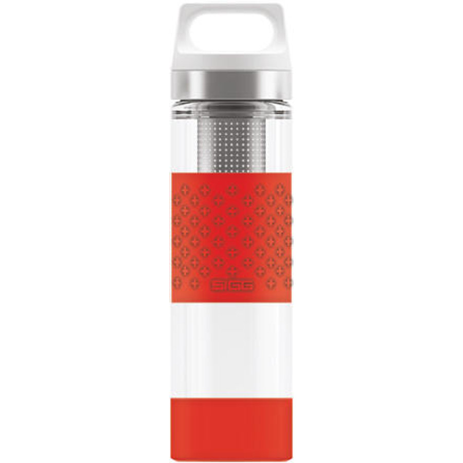 SIGG Hot & Cold Flaska 0,4 L Glas WMB - Red
