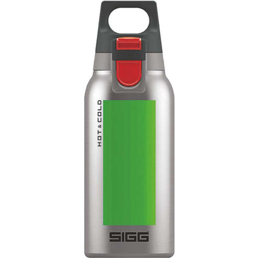SIGG Hot & Cold ONE Accent Trinkflasche 0,3 l Green