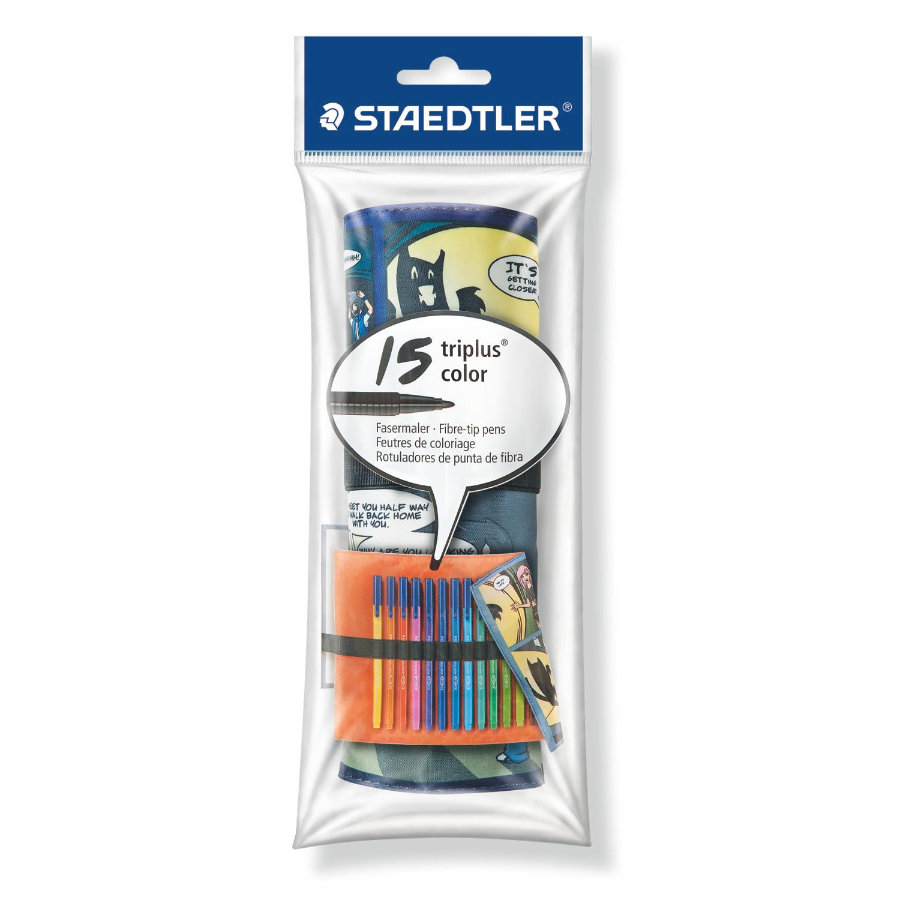 STAEDTLER triplus color Tuschpennor  Box 15 ST 323 TB15